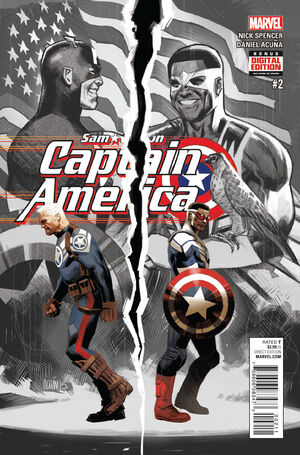 Captain America Sam Wilson Vol 1 2
