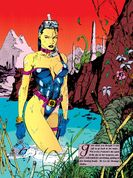 Elizabeth Braddock (Earth-616) from Marvel Illustrated The Swimsuit Issue Vol 1 1 0002