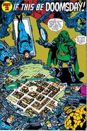 Fantastic Four (Earth-616) prisoners of Victor von Doom (Earth-616) from Fantastic Four Vol 1 236 001