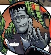 Frankenstein's Monster (Earth-BW20D) from Mrs. Deadpool and the Howling Commandos Vol 1 2 001
