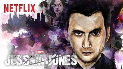 Marvel's Jessica Jones Poster - Kilgrave HD Netflix