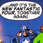 New Fantastic Four (Earth-50810) in Mega Morphs Vol 1 3 001