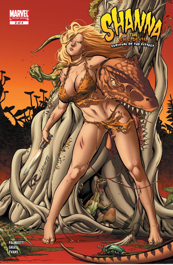 Shanna the She-Devil Survival of the Fittest Vol 1 2.jpg