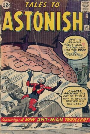 Tales to Astonish Vol 1 36