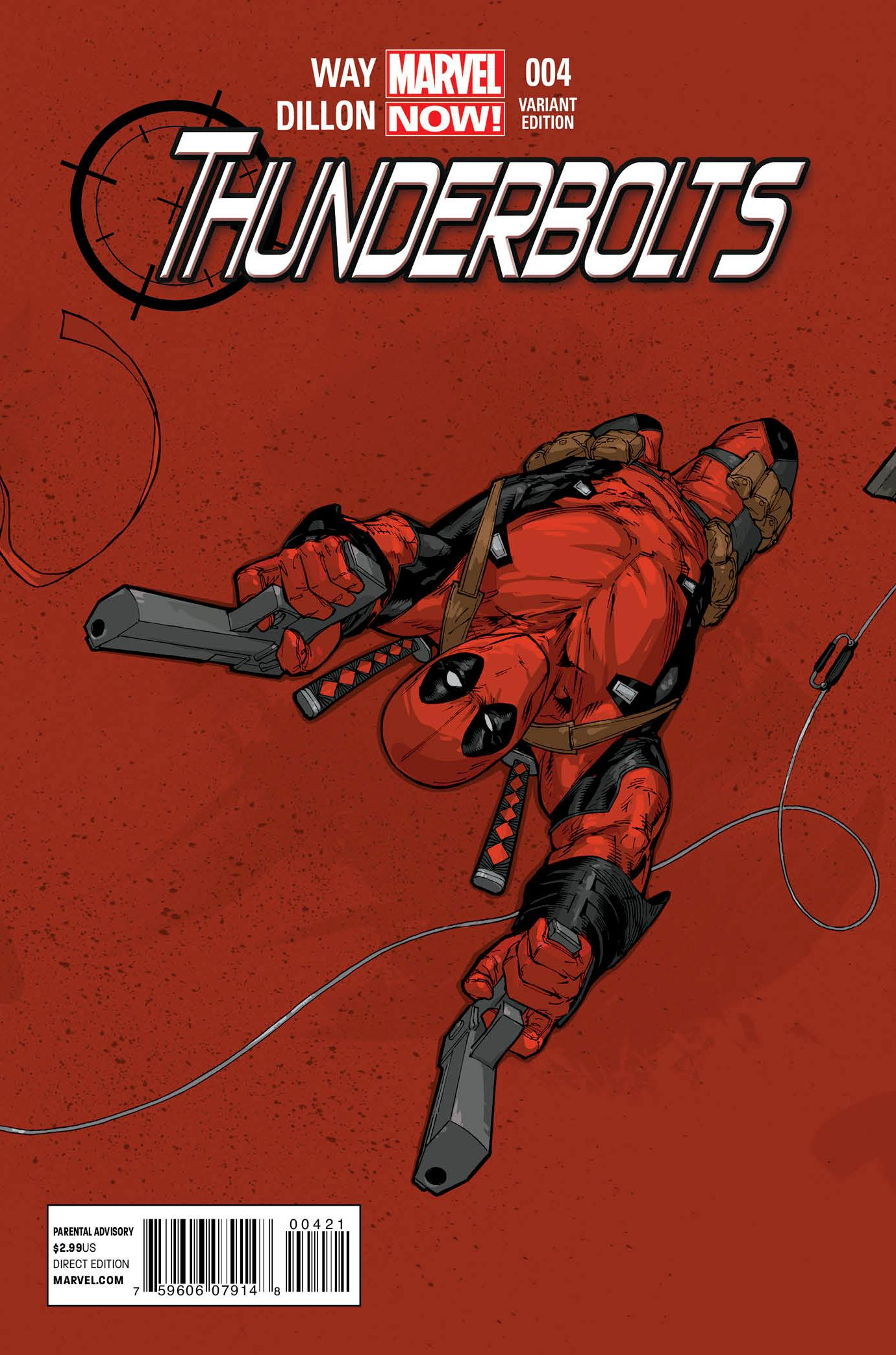 Thunderbolts Vol 2 4 Tan Variant