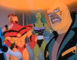 Avengers (Earth-534834) from Fantastic Four (1994 animated series) Season 2 6 0001