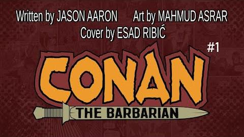 CONAN THE BARBARIAN 1 Launch Trailer Marvel Comics