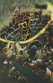 Cain Marko (Earth-616), Kuurth (Earth-616), and Thunderbolts (Earth-616) from Thunderbolts Vol 1 160 0001