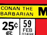 Conan the Barbarian Vol 1 59