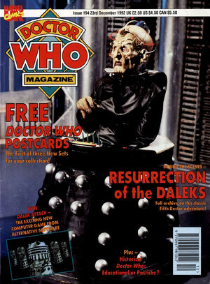 Doctor Who Magazine Vol 1 194