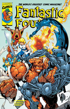 Fantastic Four Vol 3 28