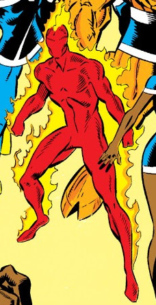 Human Torch (Earth-9105) from New Warriors Vol 1 12 0001