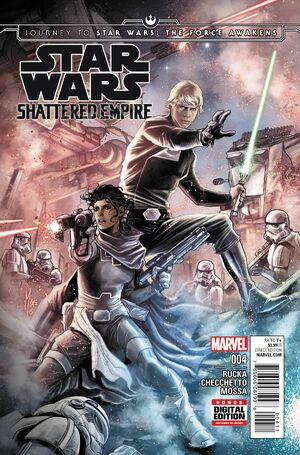 Journey to Star Wars The Force Awakens - Shattered Empire Vol 1 4