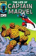Life of Captain Marvel Vol 1 2