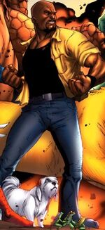 Luke Cage (Earth-97161) from Avengers vs, Pet Avengers Vol 1 3 001