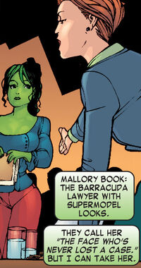 Mallory Book (Earth-616) from She-Hulk Vol 1 1 001