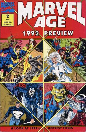 Marvel Age Preview Vol 1 2