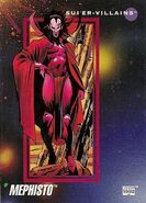 Mephisto (Earth-616) from Marvel Universe Cards Series III 0001