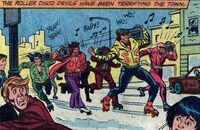 Roller Disco Devils (Earth-51914) from Peter Parker, the Spectacular Spider-Man Vol 1 45