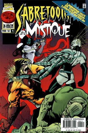 Sabretooth and Mystique Vol 1 4