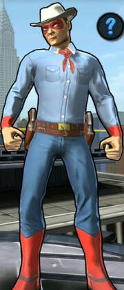 Spider-Cowboy (Peter Parker) from Spider-Man Unlimited (video game) 001
