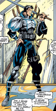 Swordsman (Heroes Reborn) (Earth-616) from Avengers Vol 2 1 0001