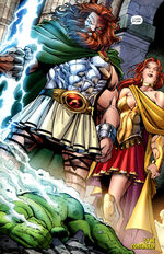 Zeus Panhellenios (Earth-616) and Hera Argeia (Earth-616) from Incredible Hulks Vol 1 621 001