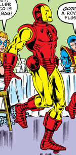 Anthony Stark (Earth-77640) from Fantastic Four Roast Vol 1 1 0001