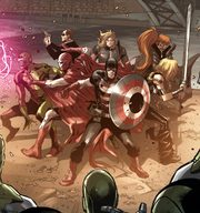 Avengers (Doctor Doom's) (Earth-616) from Avengers World Vol 1 16 001