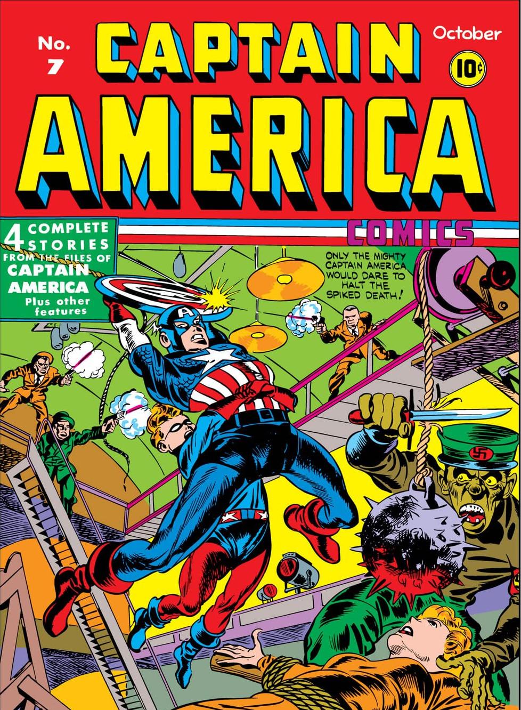 Captain America Comics Vol 1 7