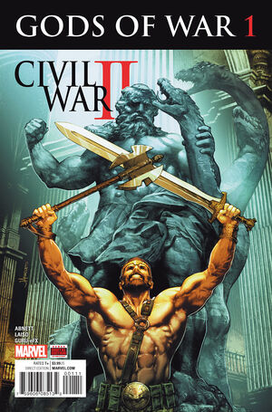 Civil War II Gods of War Vol 1 1