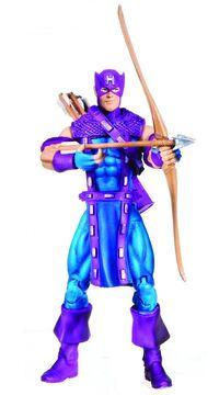 Clinton Barton (Earth-616) from Marvel Universe (Toys) Comic Packs Series 1 (Secret Wars 25th Anniversary) 0001