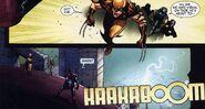 Daken probeert Thor aan te vallen (Siege -2)
