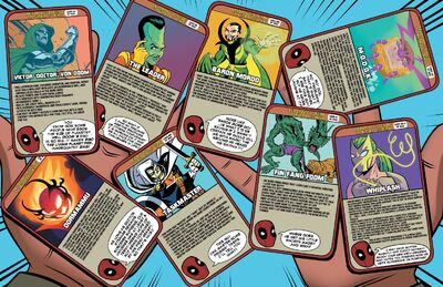 Deadpool's Guide to Super Villains Cards from Unbeatable Squirrel Girl Vol 2 48 001