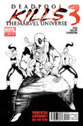 Deadpool Kills the Marvel Universe Vol 1 3 2nd Printing Variant