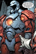Guardian's Battle-suit from Ultimate X-Men Vol 1 98 0001