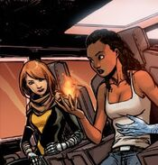Hope Summers (Earth-616) and Idie Okonkwo (Earth-616) from Generation Hope Vol 1 1 0001