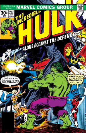 Incredible Hulk Vol 1 207