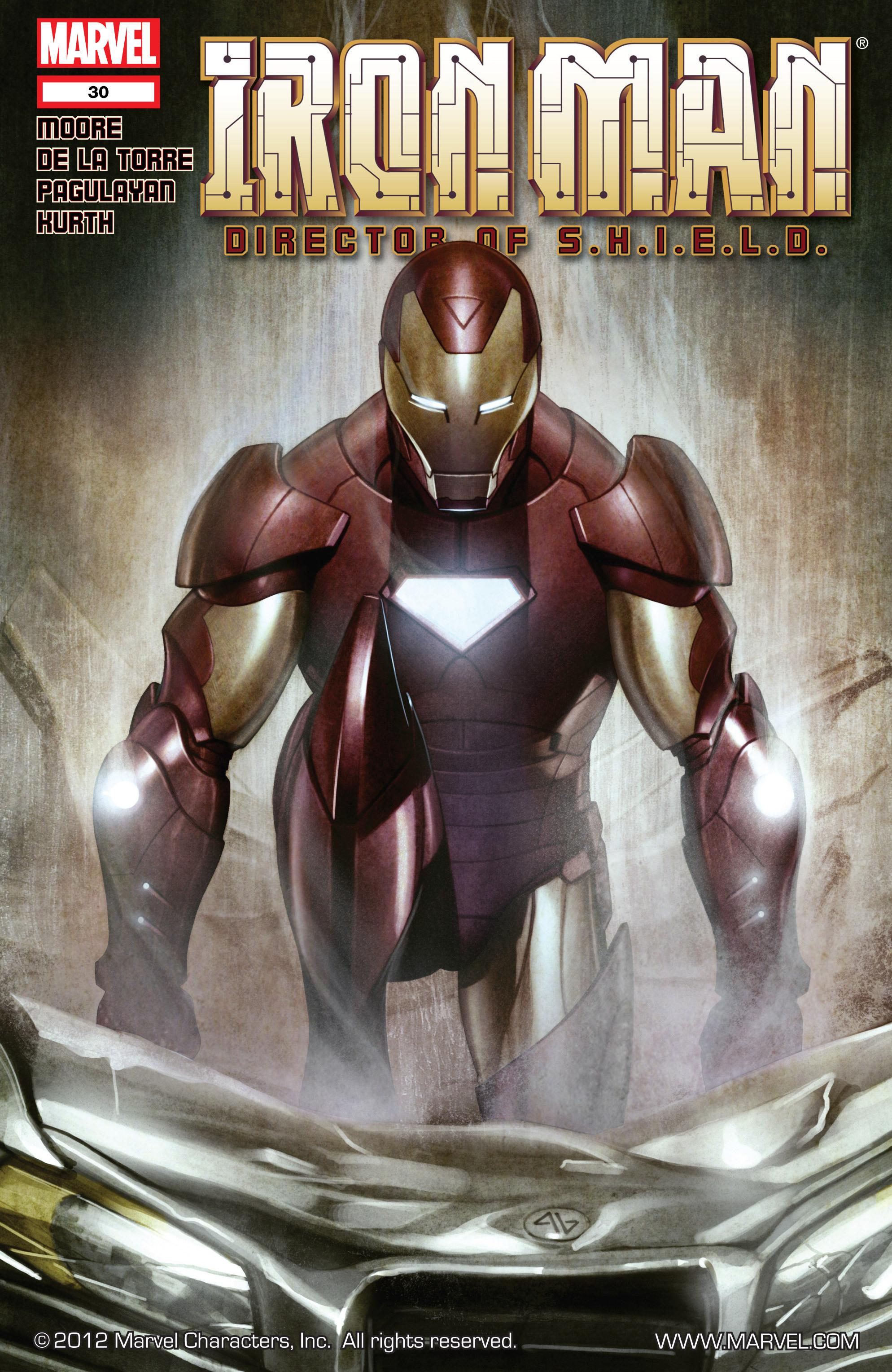Iron Man Director of S.H.I.E.L.D. Vol 1 30