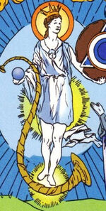 Lady of the Lake (Eurth) (Earth-616) from Avataars Covenant of the Shield Vol 1 3 0001