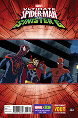 Marvel Universe Ultimate Spider-Man vs. the Sinister Six Vol 1 3