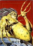 Mojo (Mojoverse) from Marvel Masterpieces Trading Cards 1992 0001