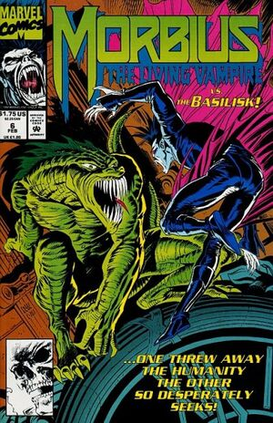 Morbius The Living Vampire Vol 1 6