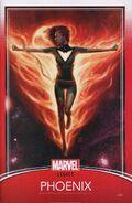 Phoenix Resurrection The Return of Jean Grey Vol 1 1 Trading Card Variant