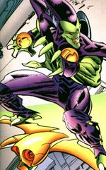 Robin Borne (Earth-9500) from Spider-Man 2099 Meets Spider-Man Vol 1 1 001