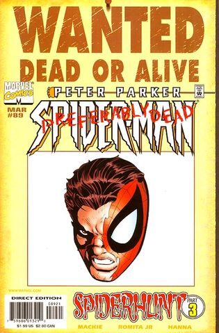 File:Spider-Man Vol 1 89 Wanted Poster Variant.jpg