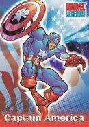 Steven Rogers (Earth-616) from Marvel Legends (Trading Cards) 0001