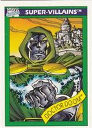 Victor von Doom (Earth-616) from Marvel Universe Cards Series I 0001
