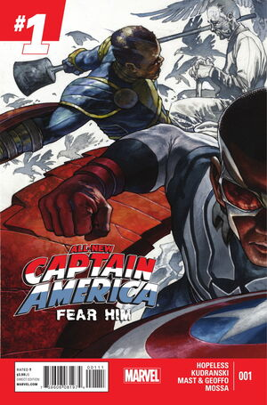 All-New Captain America Fear Him Vol 1 1