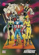Avengers (Earth-616) from Marvel Universe Cards Series III 0001